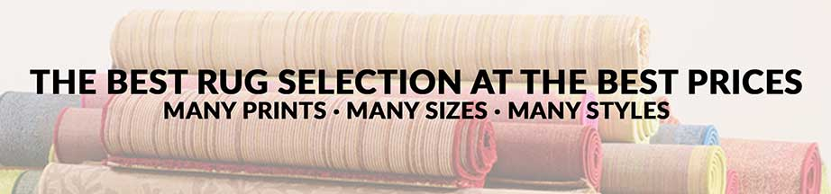 Lowry's large selection of rugs